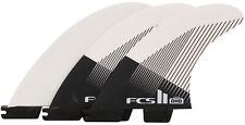 FCS II DHD PC Surfboard Tri Fin Set - Large - New