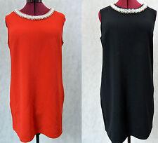 Work Short Solid Sheath Dresses for Women