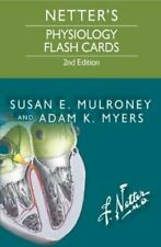 Netter's Physiology Flash Cards by Susan E. Mulroney 9780323359542 | Brand New