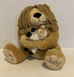First & Main pacemakers plush lion and Lamb dreadlocks unique and rare