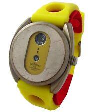 Tempic Scheibenuhr digital Uhr springende Stunde vintage jump hour wrist watch