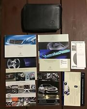 2008 Mercedes Benz S Class Owners Manual With Case OEM Free Shipping