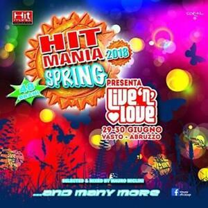 HIT MANIA SPRING 2018 - 2CD NUOVO SIGILLATO  48 BRANI  SELECTED MAURO MICLINI