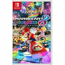 Nintendo Switch Game - Mario Kart 8 ( Deluxe Edidion )