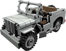 CUSTOM building INSTRUCTION - WILLYS JEEP passenger to build out of LEGO® parts