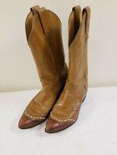 80's Vintage Women's Tony Lama Boots - Lizard Skin Wing-tip - Size 6