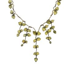 Peppermint Necklace by Michael Michaud Silver Seasons, Exclusively Ours! 7900BZ