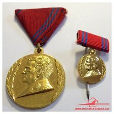 YUGOSLAVIAN MEDAL FOR 40 YEARS OF PEOPLE'S ARMY