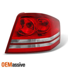 Fit 2008 2009 2010 Dodge Avenger Passenger Side Red Clear Replacement Tail Light