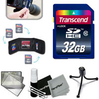 Transcend 32GB High-Speed Memory Card + KIT f/ SONY DSC- W800  W830  W730 W710