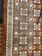 More details for reclaimed edwardian antique geometric floor tiles
