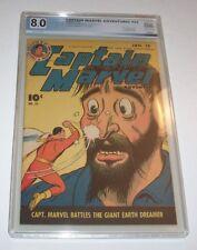 Captain Marvel Adventures #52 - 1946 Fawcett Golden Age issue - PGX VF 8.0