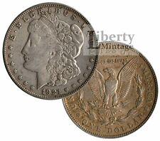 MORGAN DOLLAR 1921 U.S. 90% Silver $1 Coin - VG-XF
