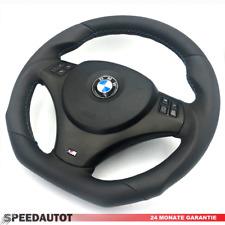 Tuning Abgeflacht Lenkrad BMW M-Power MFU E84 E87 E88 E90 E91 Airbag