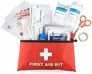 100 Pieces First Aid Kit- All-Purpose Premium Medical Supplies and Emergency Bag