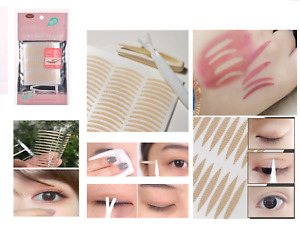 NEW Waterproof Adhesive Invisible Double Eyelid Stickers Patch Eye Tape Makeup