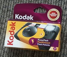 Kodak Single Use Camera Power Flash One Touch  800 Film 27 Pictures #6060 2010