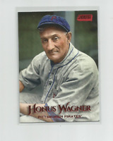 HONUS WAGNER (Pittsburgh) 2019 TOPPS STADIUM CLUB RED PARALLEL CARD #236