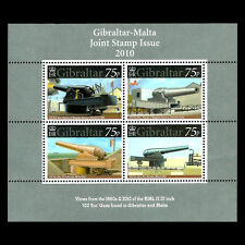 "Gibraltar 2010 - ""Guns"" Joint Issue with Malta War Military - Sc 1221 MNH"