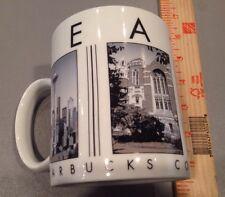 2003 Starbucks 16 oz Pike Place Seattle Barista Coffee Mug Cup City Scene Series