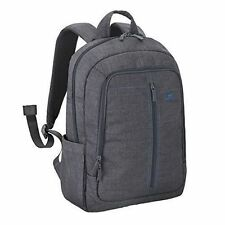 RIVACASE 7560 Backpack 15 6 Grey Canvas Material