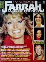 Farrah Fawcett Magazine 1977 TV Greats Premiere V1N1 Majors Charlie's Angels COA