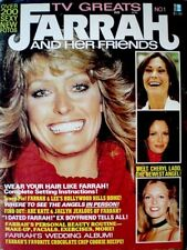Farrah Fawcett Magazine 1977 TV Greats Premiere V1N1 Majors Charlie's Angels COA