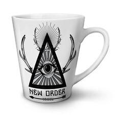 New World Order Crew NEW White Tea Coffee Latte Mug 12 17 oz | Wellcoda