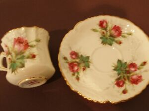 Hammersley Grandmothers Rose Bone China Tea Cup and saucer