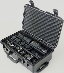 Black Pelican ™ Storm ™im2500SC Case with Padded Dividers & Laptop Lid Organizer