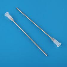 "5pcs 14Ga 4"" 100MM Blunt dispensing needles syringe tips"