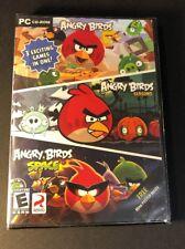 Angry Birds + Angry Birds Seasons + Angry Birds Space (PC / CD-ROM) NEW