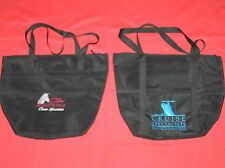 2 CRUISE SHIP SPECIALISTS TOTE BAGS 2013 GRAND WORLD VOYAGE BLACK WHITE RED