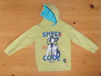 Sweatshirt Kapuzenshirt Blue Seven grün Gr. 92