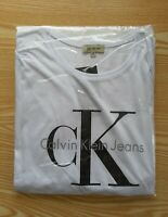 Calvin Klein Ck Men's Crew Neck Short Sleeve Logo T-Shirt
