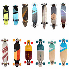 RAM Longboard Skateboard Komplettboard Long Board Drop Through Top Mount Flex