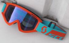Scott Recoil MX Motocross Enduro Quad Brille für Cross Helm Blau verspiegelt