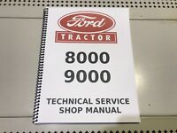 9000 Ford Technical Service Shop Repair Manual FASTSHIP!
