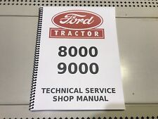 9000 Ford Technical Service Shop Repair Manual