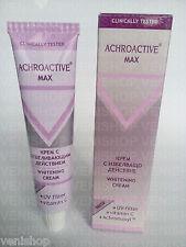 45 ml. ACHROACTIVE MAX SKIN WHITENING LIGHTENING CREAM+ UV FILTER+ VIT.C