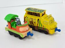 Chuggington Mtambo Diecast Safari Monkey Train Cars Learning Curve