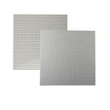 Double Side Lego Baseplates Base Plates Brick Building 32 x 32 Dots Bluish