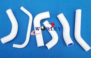 For Honda XR650R XR650 2000-2009 02 03 04 05 06 07 silicone radiator hose WHITE