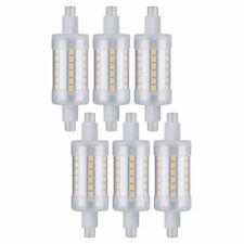LED Leuchtmittel extra dünn 5W R7s 500lm 78mm Stab hell warmweiß 3000K 360°
