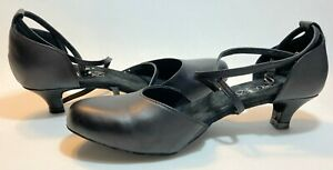 DiMichi Women Ballroom Dance Shoe Quick Release Suede Sole 1.5 Heel Various Size