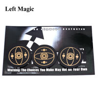 Free Will by Deddy Corbuzior Card Close up Street Magic Tricks Magician Prop NEW