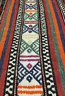 "Antique Cr1900-1939s Armenian Nagorno-Karabakh Wool Pile 5'4""×8' Soumak Rug"