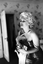 VINTAGE B&W MARILYN MONROE CHANEL NO.5 ADVERT PHOTOGRAPH POSTER A3 RE PRINT