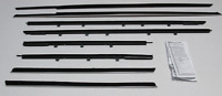 1964 Buick Wildcat 2door Hard Top Repops Window Felt Weatherstrip Kit 8pc Sweeps
