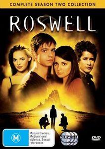 Roswell : Season 2 (DVD, 2005, 6-Disc Set)